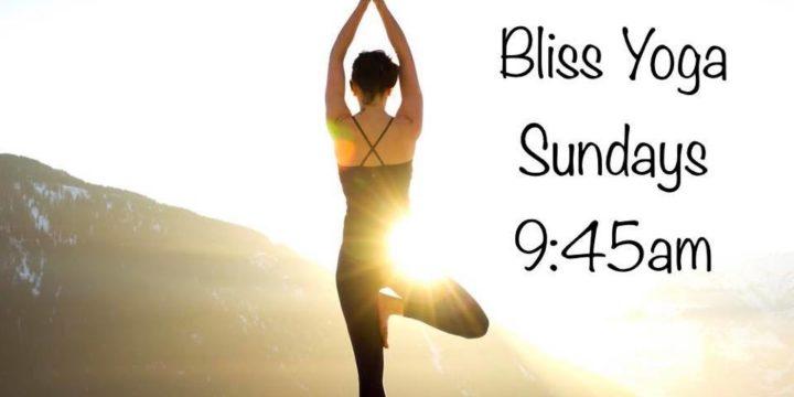 Yoga Bliss- Sundays 9:45 AM & Feldenkrais – Mondays 10:15
